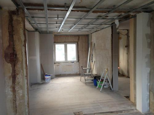 Maler Wilkau-Haßlau - Vor Innenraumgestaltung, Fußbodenverlegearbeiten, Trockenbau